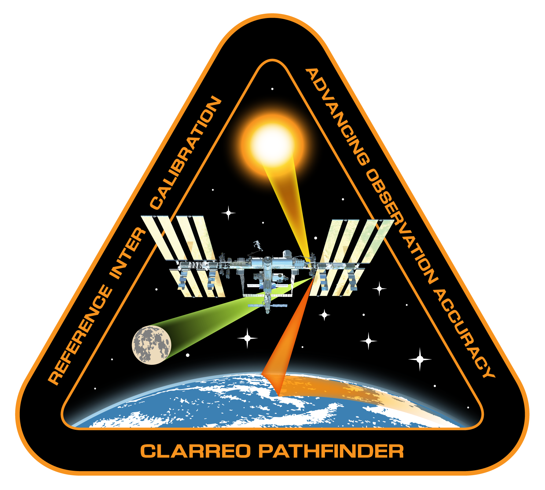 CLARREO Pathfinder mission patch